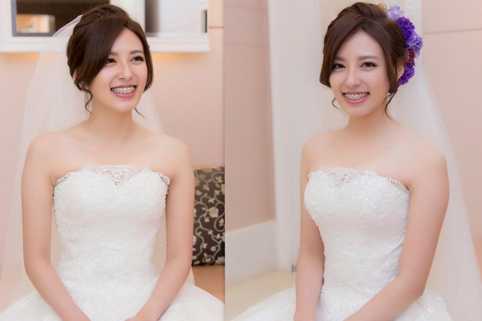 新秘推薦│白紗│盤髮│鮮花造型│編髮造型|新娘頭紗造型|新娘造型|新娘髮型|白紗造型|高雄新秘|新秘YUKI|婚宴造型
