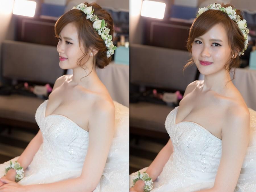 新秘Yuki│新秘推薦│白紗│盤髮│鮮花造型│花環│新娘髮型|新娘造型|白紗造型|高雄新秘