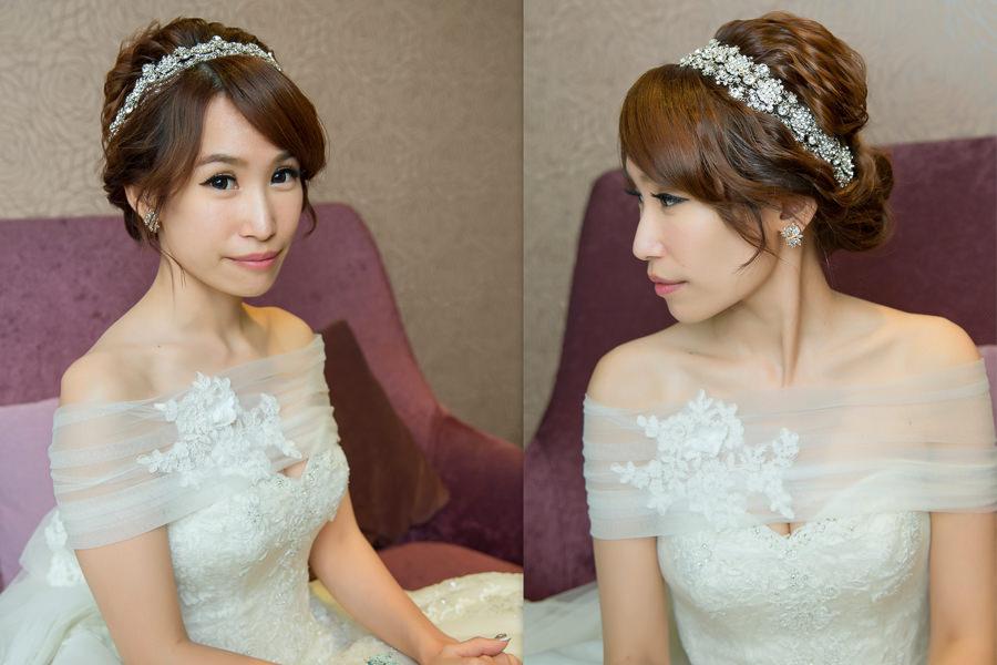 新秘推薦│白紗│盤髮|新娘造型|新娘髮型|白紗造型|高雄新秘|新秘YUKI|婚宴造型